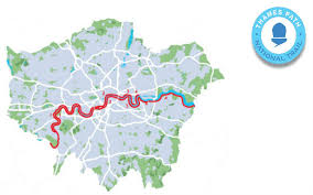 thames river map europe thames path transport for london