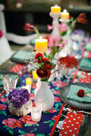 wedding reception ideas table decorations mexican wedding
