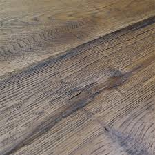 Distressed Engineered Wood Flooring Loire Distressed 20mm Honey Oak Heavy Brushed Engineered Flooring