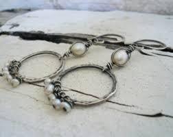 mississippi earrings mississippi pearls etsy