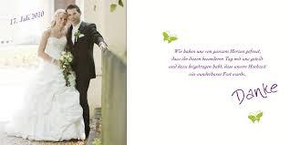 sprüche danksagung hochzeit dankeskarten mit foto blickfang in violett
