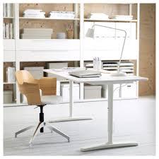 White Office Desk by Bekant Desk White 160x80 Cm Ikea