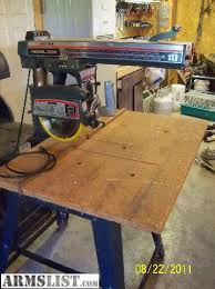 Craftsman Radial Arm Saw Table Armslist For Sale Craftsman Radial Arm Saw