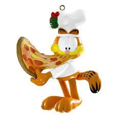 carlton heirloom ornament 2014 garfield eating pizza cxor054f