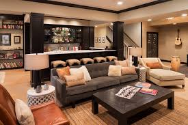 Basement Kitchen And Bar Ideas Basement Bar Home Bar Traditional With Pool Room Glass Panels
