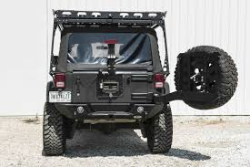 jeep tire carrier lod destroyer rear bumper and tire carrier