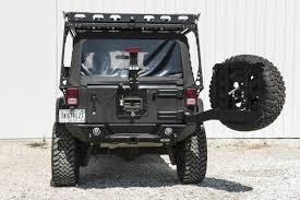 aev jeep rear bumper lod destroyer rear bumper and tire carrier