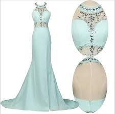 halter prom dresses tiffany blue prom dress mermaid prom dress