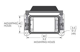 ilme chp 10l c type surface mount housing