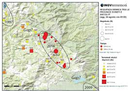 Map Of Central Italy by Italy Earthquake Leaves Seismic Gaps Temblor Net