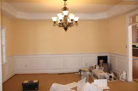 Dining Room Molding Ideas Decorating Traditional Kitchen Design With Duron Paint Wall And