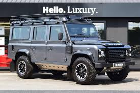 land rover defender 2015 special edition used 2015 land rover defender td adventure station wagon for sale