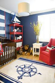 baby nursery decor two tone nautical baby nursery coloring wall