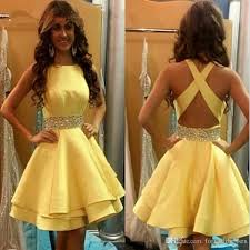 graduation dresses for high school yellow homecoming dresses graduation dresses for high school a line