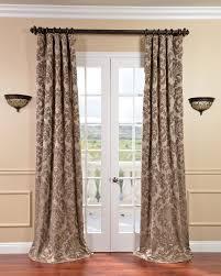 french door curtain hardware door decoration