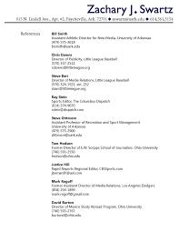 Reference Page For Resume Photo Essays Canoe U0026 Kayak Magazine Cv Professional References
