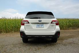 subaru outback 2018 vs 2017 2018 subaru outback review autoguide com news