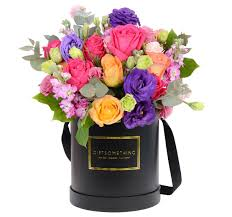 flowers in a box seaonal flowers in flower box gift flower hk
