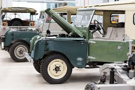 vintage land rover ad jaguar land rover opens the world u0027s largest classic car center in