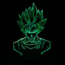 Green Table Gifts by Aliexpress Com Buy Dragon Ball 3d Table Lamp Cool Nightlights