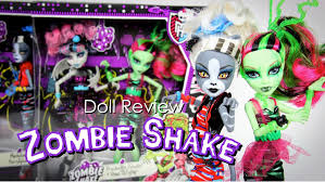 Monster High Doll House Furniture Doll Review Monster High Zombie Shake Plus Doll Giveaway Youtube