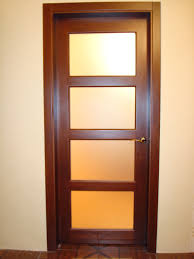 Interior Door Modern by Mdf Wooden Interior Door Modern Style With Glass