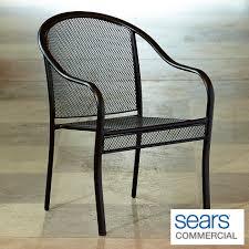 Mesh Patio Furniture Grand Resort Commercial Grade Barrel Back Mesh Patio Dining Chair