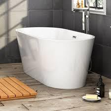 freestanding slipper bath tub 1650mm white acrylic traditional 1500x750mm modern stylish designer bathroom freestanding roll top bath tub br267