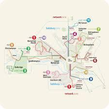 Network Map Network Map Salisbury Reds