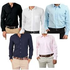 buy combo of 5 smart cotton shirts online best prices in india
