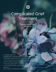 Counselor Treatment Manual Pdf Manual Other Tools The Center For Complicated Grief