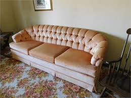 Curved Arm Sofa Rust Belt Revival Auctions