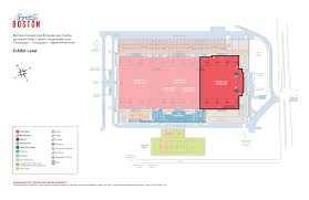 Banquet Hall Floor Plan by Exhibit Halls Signature Boston
