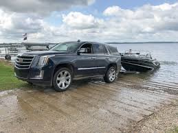 pictures of cadillac escalade towing a boat with the 2017 cadillac escalade 6 things you need
