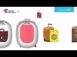 cabin baggage allowance on czech airlines flights youtube