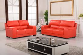 Orange Sofa Living Room Ideas Brown Living Room Design Ideas With Leather Sofa Set