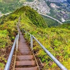 Hawaii Haiku Stairs by Save The Stairway To Heaven Trail Haiku Stairs Home Facebook