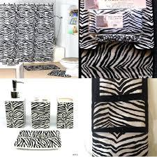 zebra print bathroom decorimpressive leopard bathroom accessories