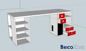fabriquer un bureau informatique comment fabriquer un bureau avec des caissons bricobistro dans