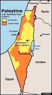 political map of israel israel map the palestinian region s changing borders huffpost