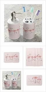 Pink Flamingo Bathroom Accessories by Pink Flamingo Floral Gray Rustic Wood Photo Print Soap Dispenser