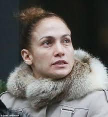 Makeup Schools In Pa Jennifer Lopez Is Unrecognizable Without Make Up Daily Mail Online