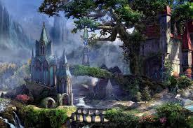 online get cheap forest waterfall artwork aliexpress com