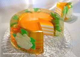 78 best gelatin art images on pinterest jelly cake art cakes