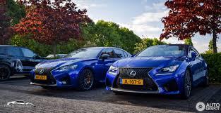 lexus luxe merk van lexus rc f 12 juli 2017 autogespot
