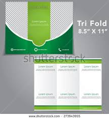 Tri Fold Program Tri Fold Brochure Vector Design Stock Vector 273943955 Shutterstock