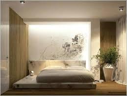 chambre style japonais lit style japonais au sol chambre bois dessins muraux 14 13 lit