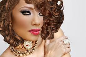 erica mena hairstyles erica mena lady gaga hairstyle and giorgio armani 01 shimmering