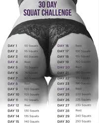 Why Won T The Challenge Work 30 Day Squat Challenge Squat Challenge