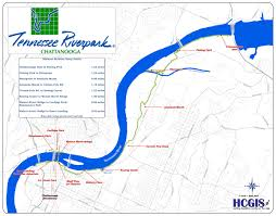 Cleveland Tennessee Map by Tn Riverpark Information
